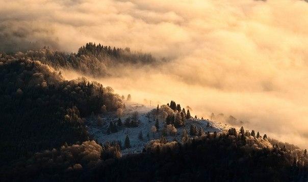 Абхазия туман