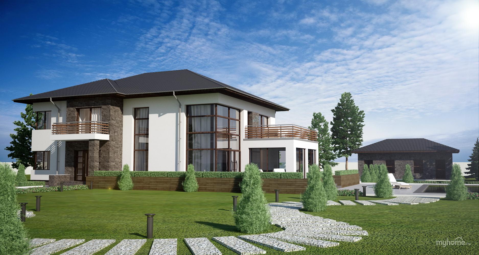 Дом в Абхазии