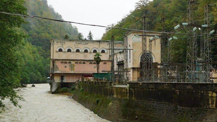 сухумской ГЭС