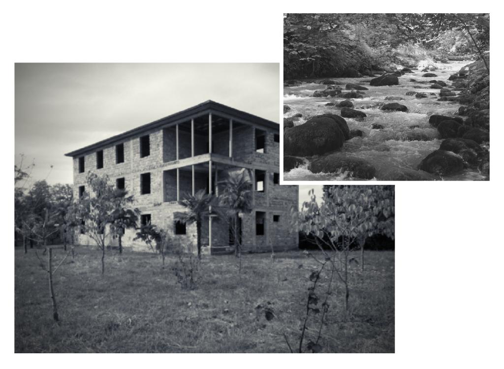 дом у реки Гумиста