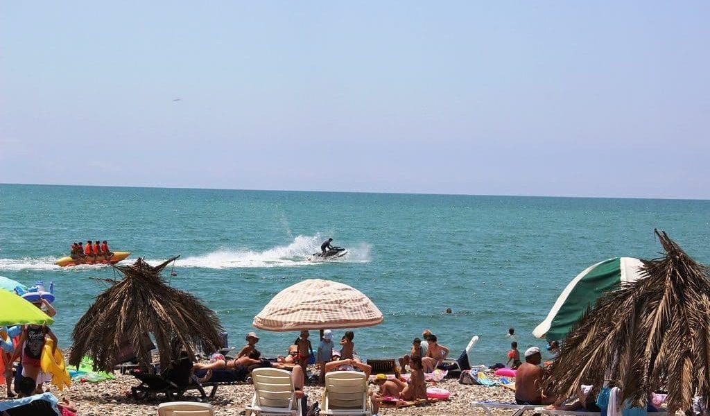 пляж санатория МВО